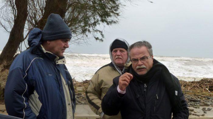 Επίσκεψη στις πληγείσες από τα ακραία καιρικά φαινόμενα περιοχές της Περιφερειακής Ενότητας Χανίων