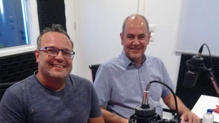 Συνέντευξη στον Αντέννα Δυτικής Κρήτης με τον Δημήτρη Σκουλούδη