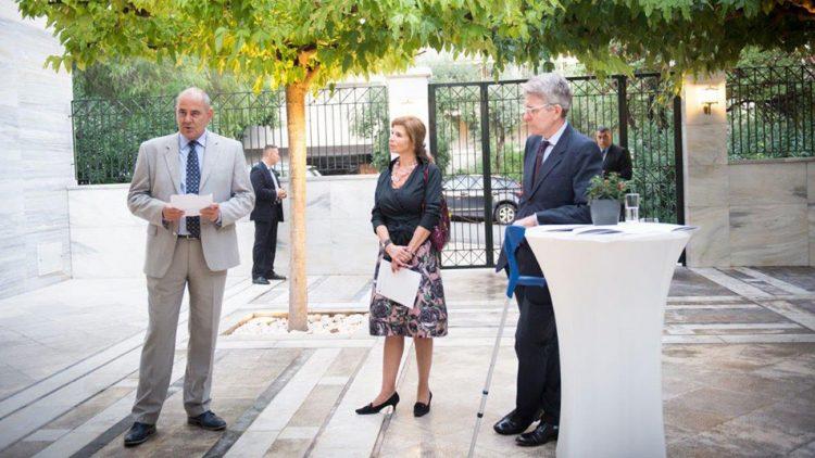 Συμμετοχή του Υφυπουργού Παιδείας Βασίλη Διγαλάκη σε εκδήλωση του Ιδρύματος Fulbright