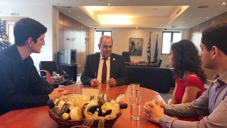 Συνάντηση του Υφυπουργού Παιδείας και Θρησκευμάτων με τον Σύλλογο Ελλήνων Φοιτητών ΜΙΤ