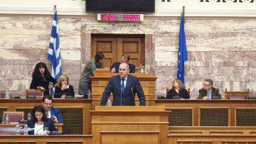 Ομιλία Υφυπουργού Παιδείας Βασίλη Διγαλάκη στην Επιτροπή Μορφωτικών Υποθέσεων