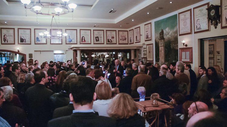 Θερμή ανταπόκριση στο κάλεσμα του Βασίλη Διγαλάκη σε εκδήλωση στα Χανιά