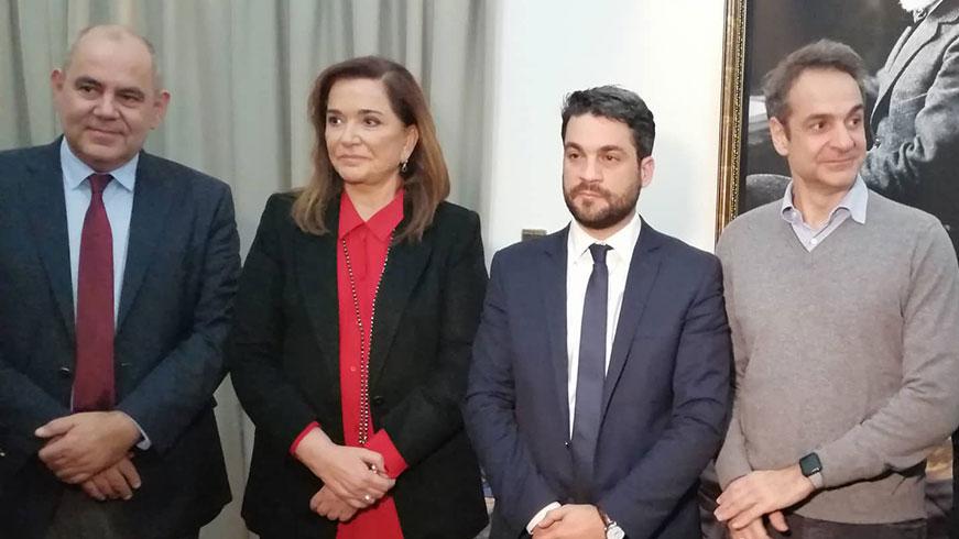 Eπίσκεψη του πρωθυπουργού Κυριάκου Μητσοτάκη στα Χανιά