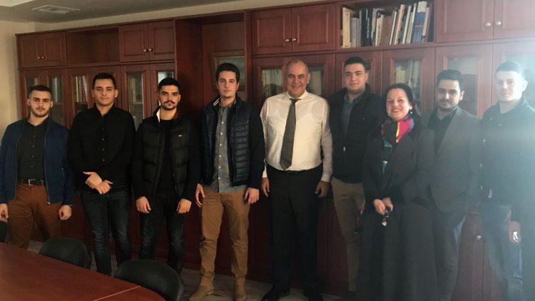 Συνάντηση με εκπροσώπους της Φοιτητικής Ένωσης Κρητών Αττικής