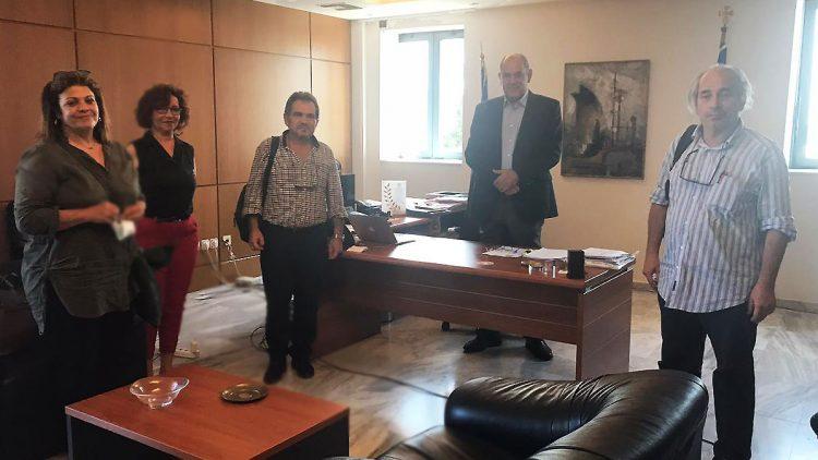 Συνάντηση με την Ομοσπονδία Πολυμελών Οικογενειών με Τρία Τέκνα Ελλάδας