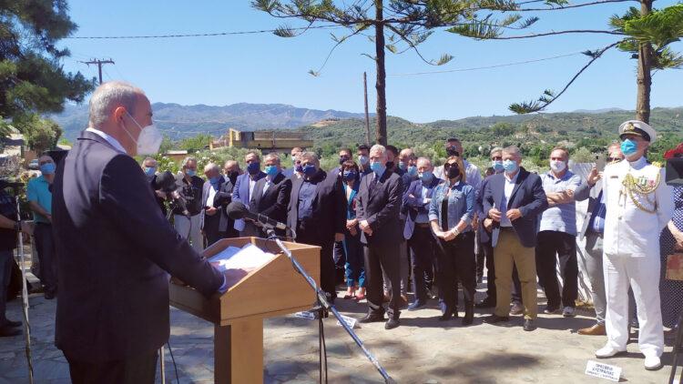 Β. Διγαλάκης: Διαχρονικό το μήνυμα γενναιοψυχίας και φιλοπατρίας στην ιστορική Μάχη της Κρήτης