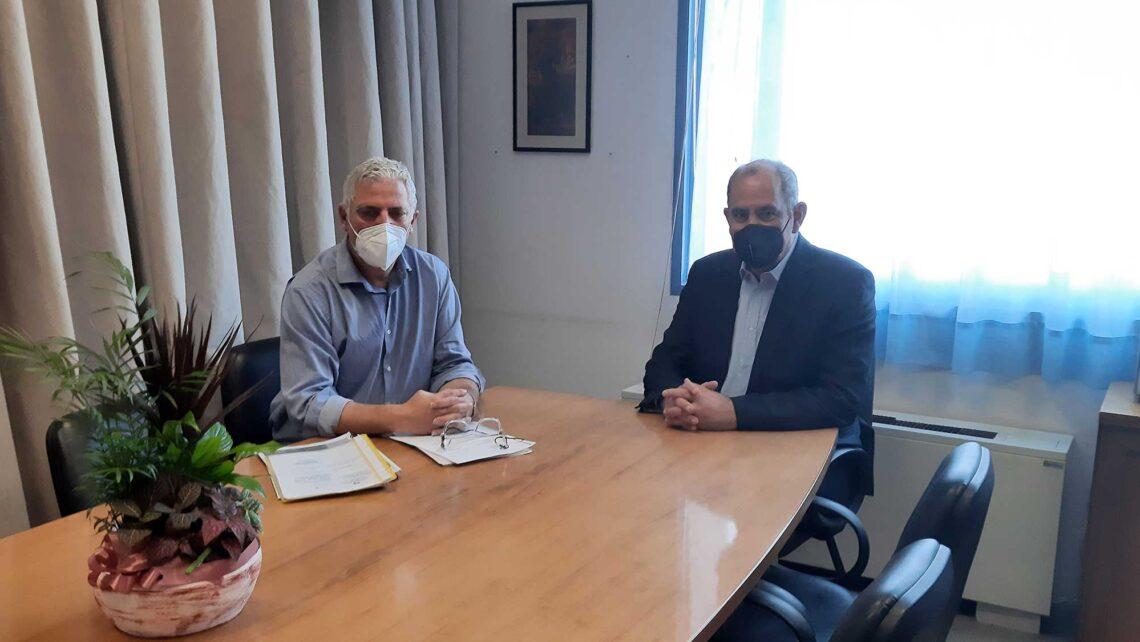 Στο Νοσοκομείο Χανίων ο Β. Διγαλάκης: Ενισχύεται το Ε.Σ.Υ., οι εμβολιασμοί ανοίγουν τον δρόμο προς την κανονικότητα