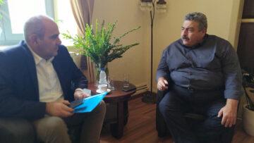 Συνάντηση Β. Διγαλάκη με τον Ν. Καλογερή για ζητήματα των Χανίων
