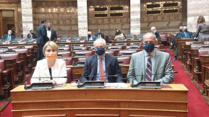 Επανεκλογή Βασίλη Διγαλάκη ως Προέδρου της Διαρκούς Επιτροπής Μορφωτικών Υποθέσεων της Βουλής